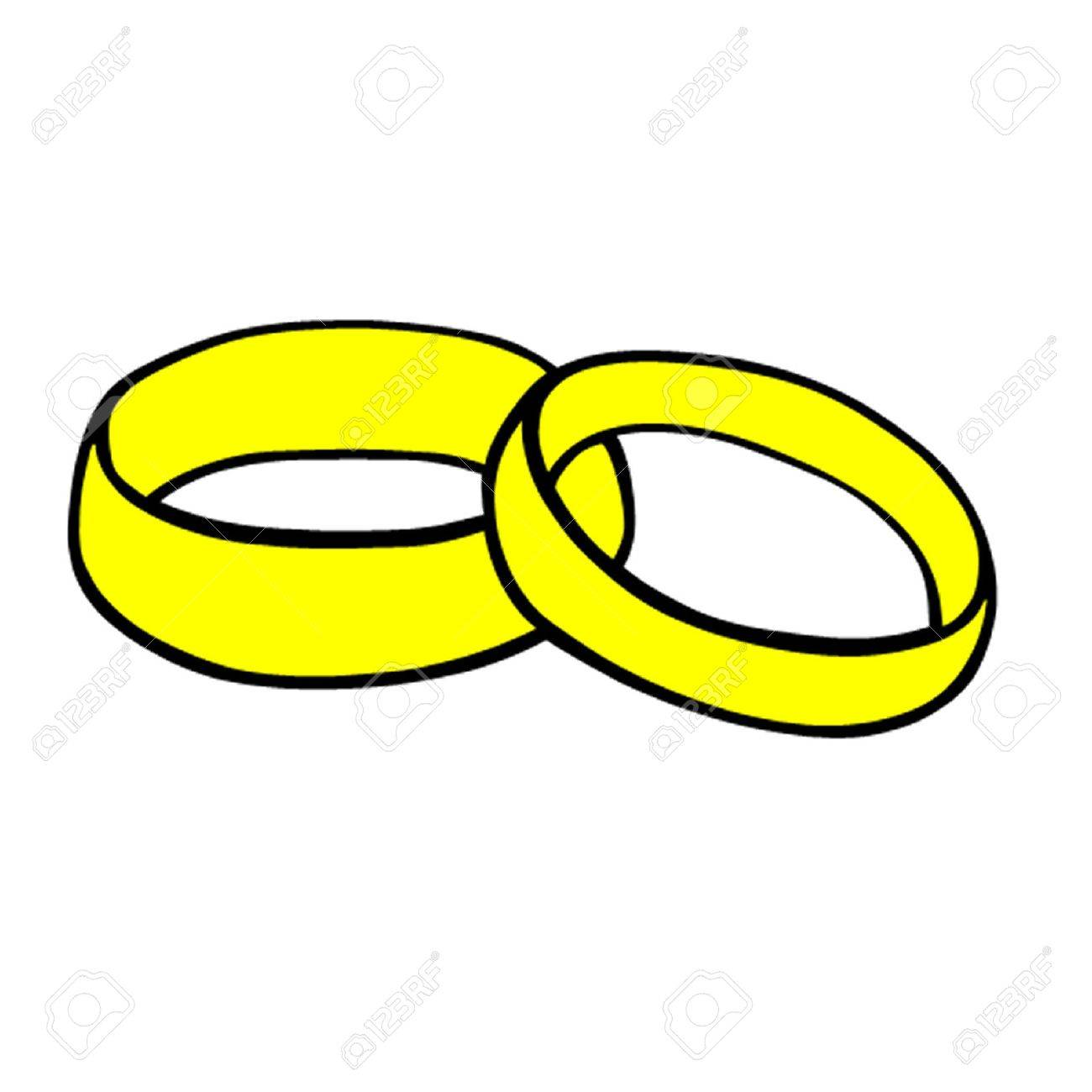 Wedding Rings Stock Vector - 12475174