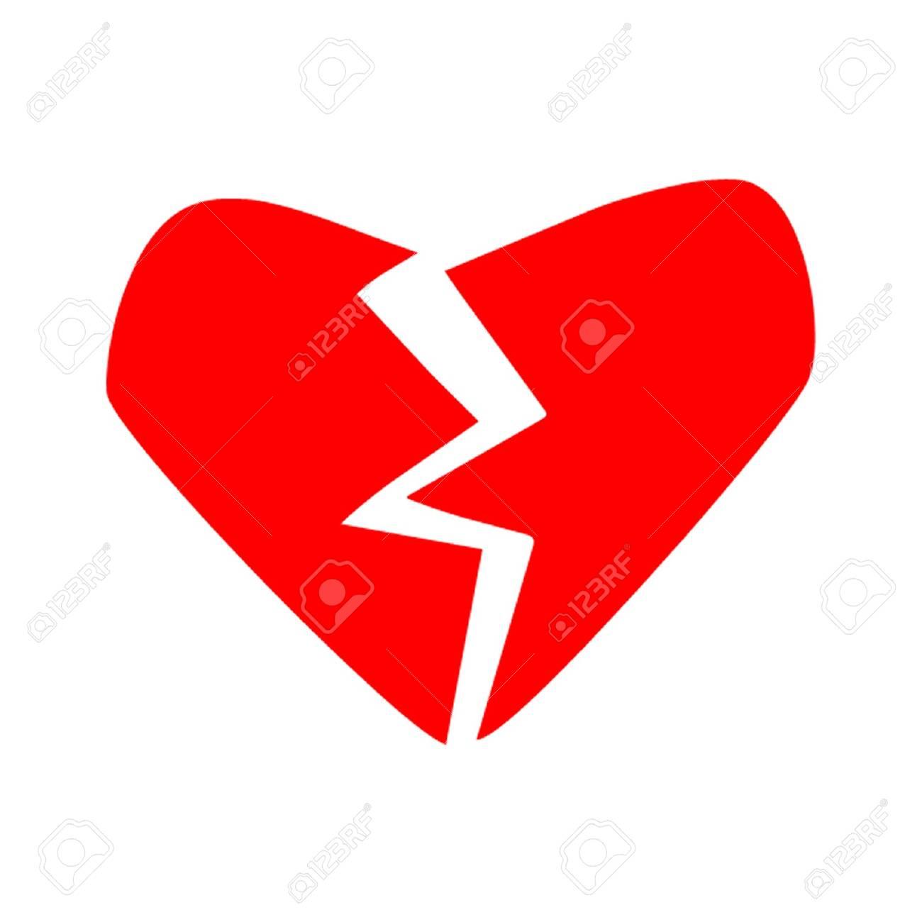 Broken Heart Stock Vector - 12833644
