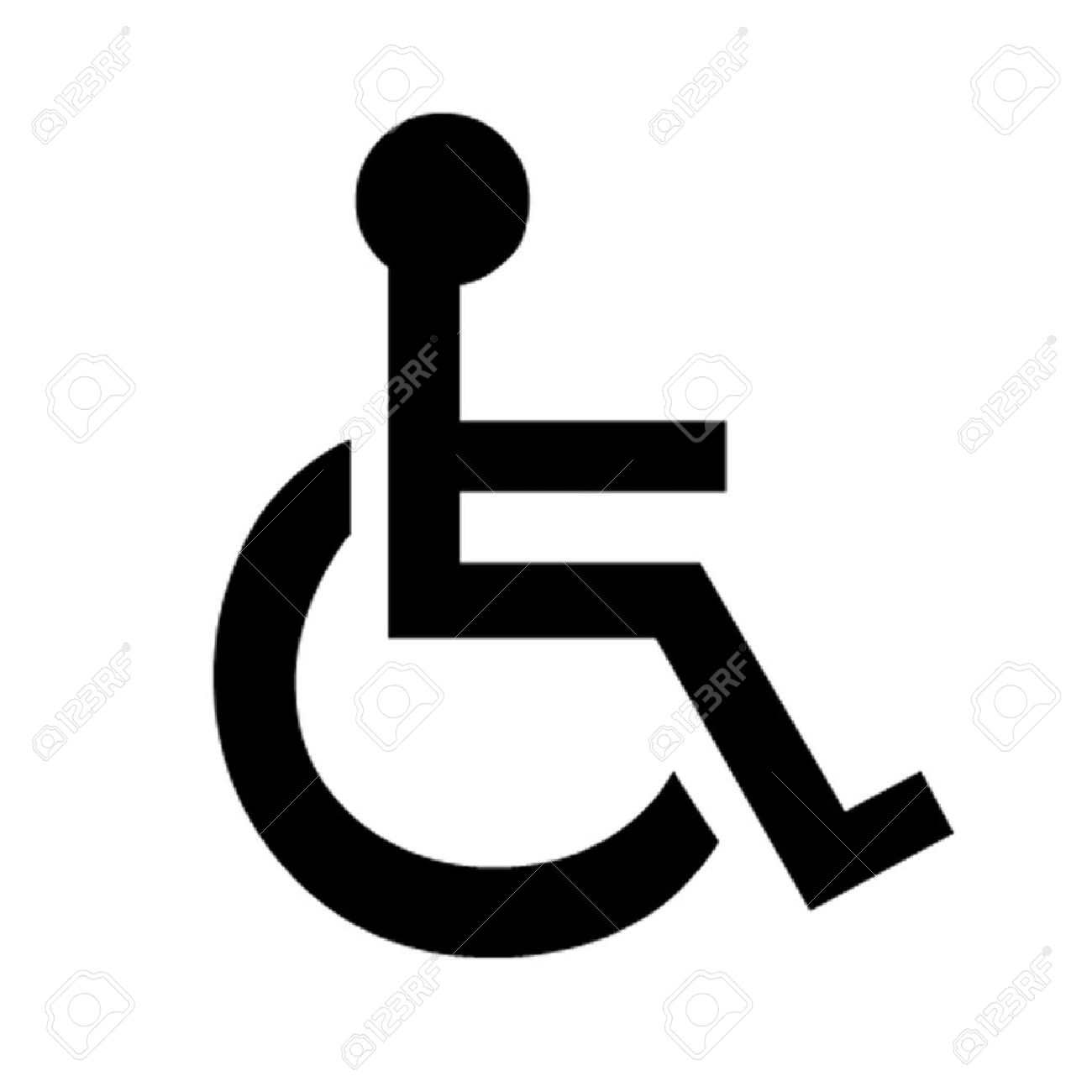 disabled wheelchair symbol royalty free cliparts vectors and stock rh 123rf com disable logon banner disable logon password