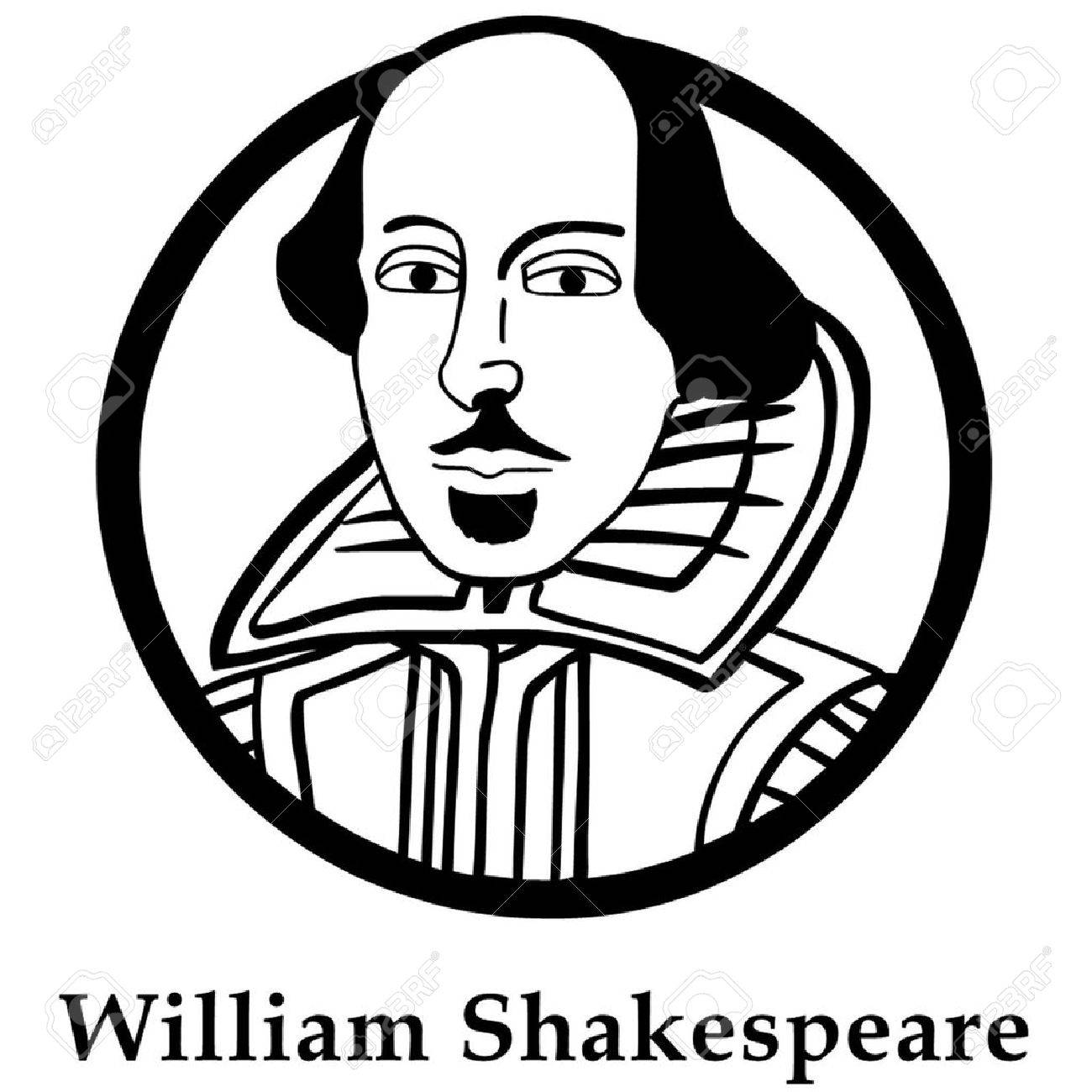 william shakespeare royalty free cliparts vectors and stock rh 123rf com