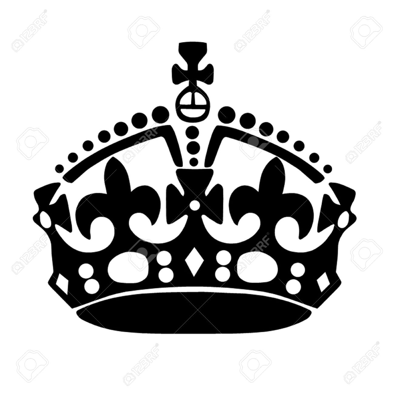 keep calm crown royalty free cliparts vectors and stock rh 123rf com keep calm logo generator