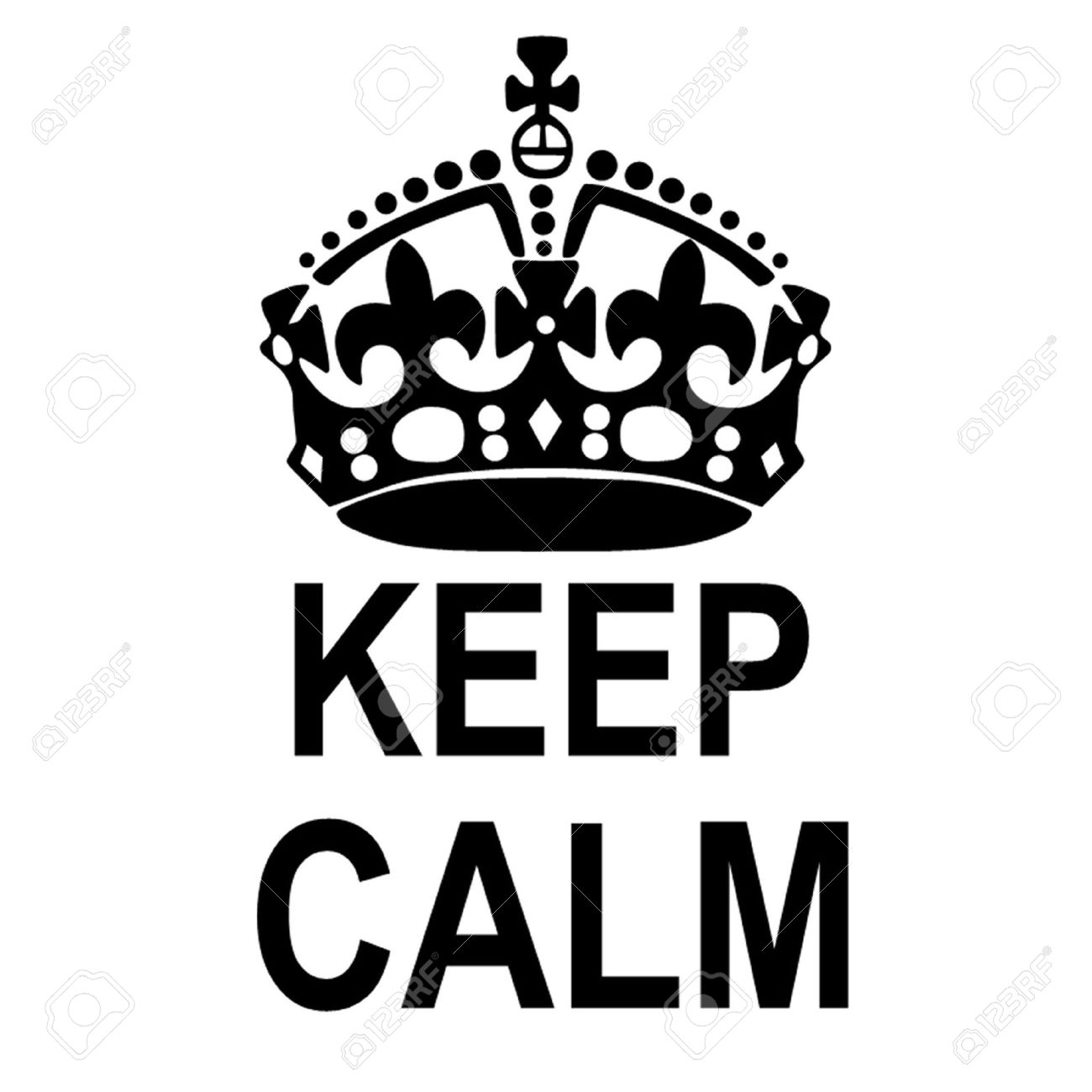 keep calm crown royalty free cliparts vectors and stock rh 123rf com keep calm crown vector ai keep calm crown vector ai