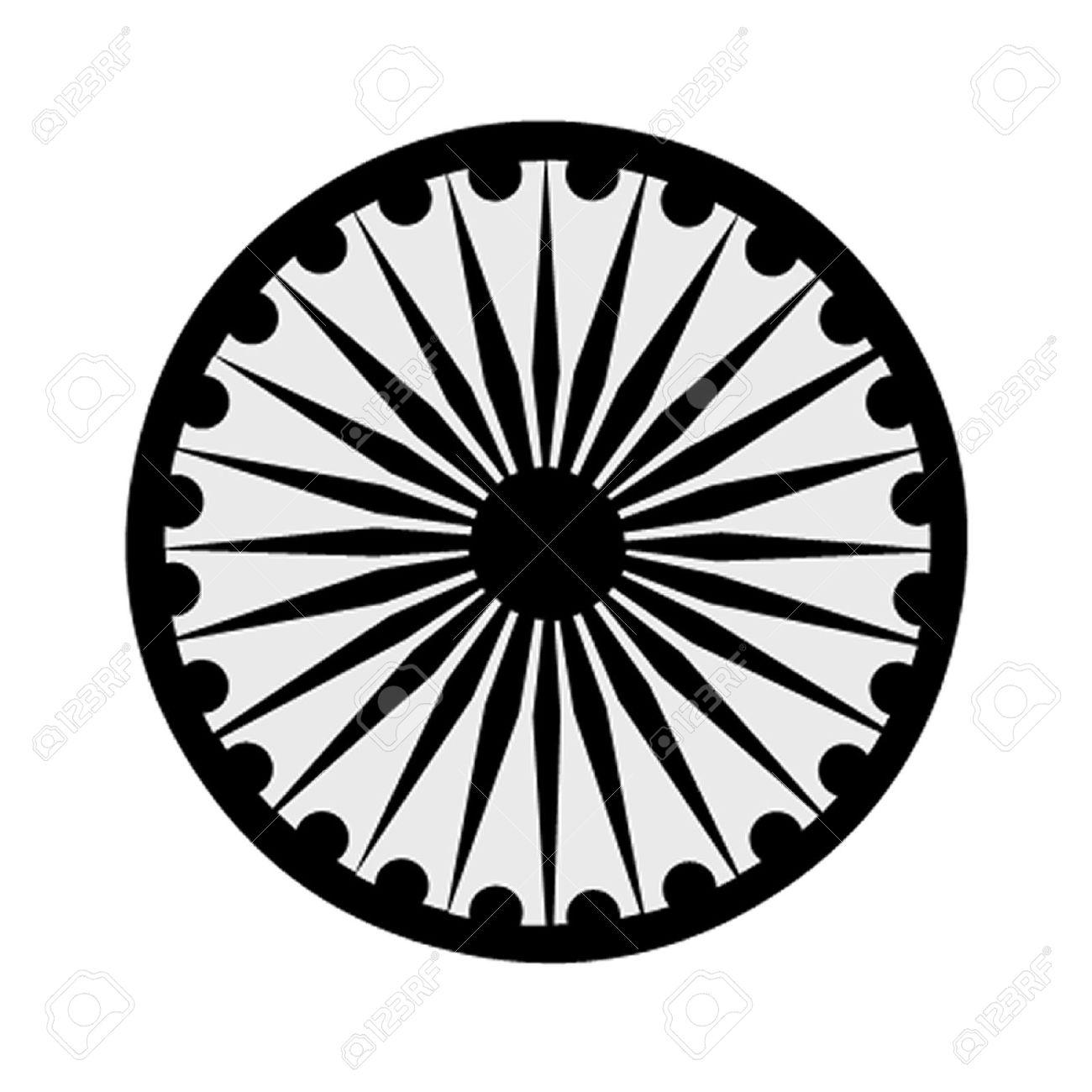 The buddhist symbol of the ashoka chakra royalty free cliparts the buddhist symbol of the ashoka chakra stock vector 25515236 biocorpaavc Images