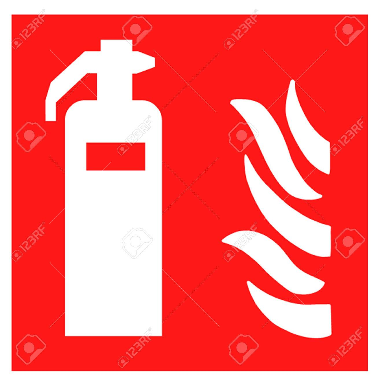 Fire extinguisher symbol royalty free cliparts vectors and stock fire extinguisher symbol stock vector 27378028 buycottarizona