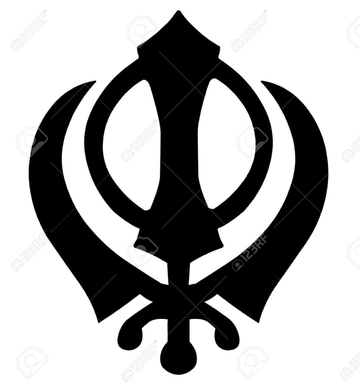 Khanda Sikh Symbol Royalty Free Cliparts, Vectors, And Stock ...