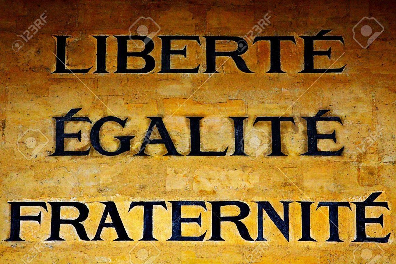 El Lema De La Revolución Francesa Fotos Retratos Imágenes Y Fotografía De Archivo Libres De Derecho Image 20171809