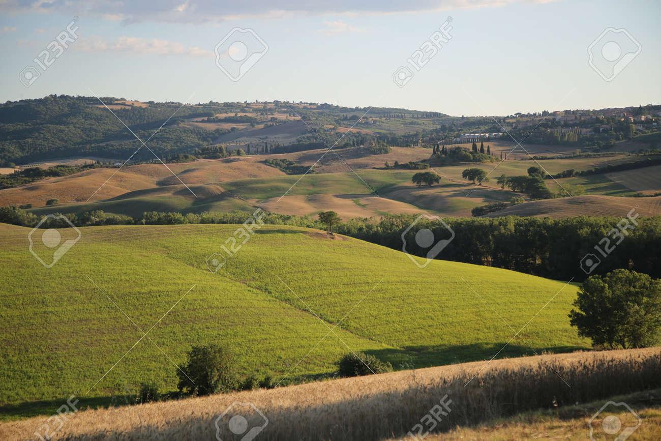 Beautiful Tuscany Landscape, Val DOrcia - 154735649