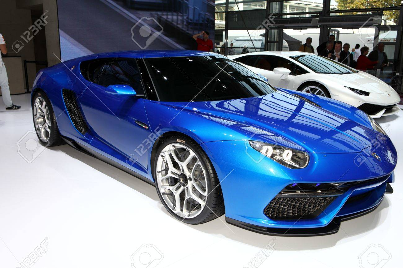 The New Lamborghini Asterion Lpi 910 4 Concept Displayed At The