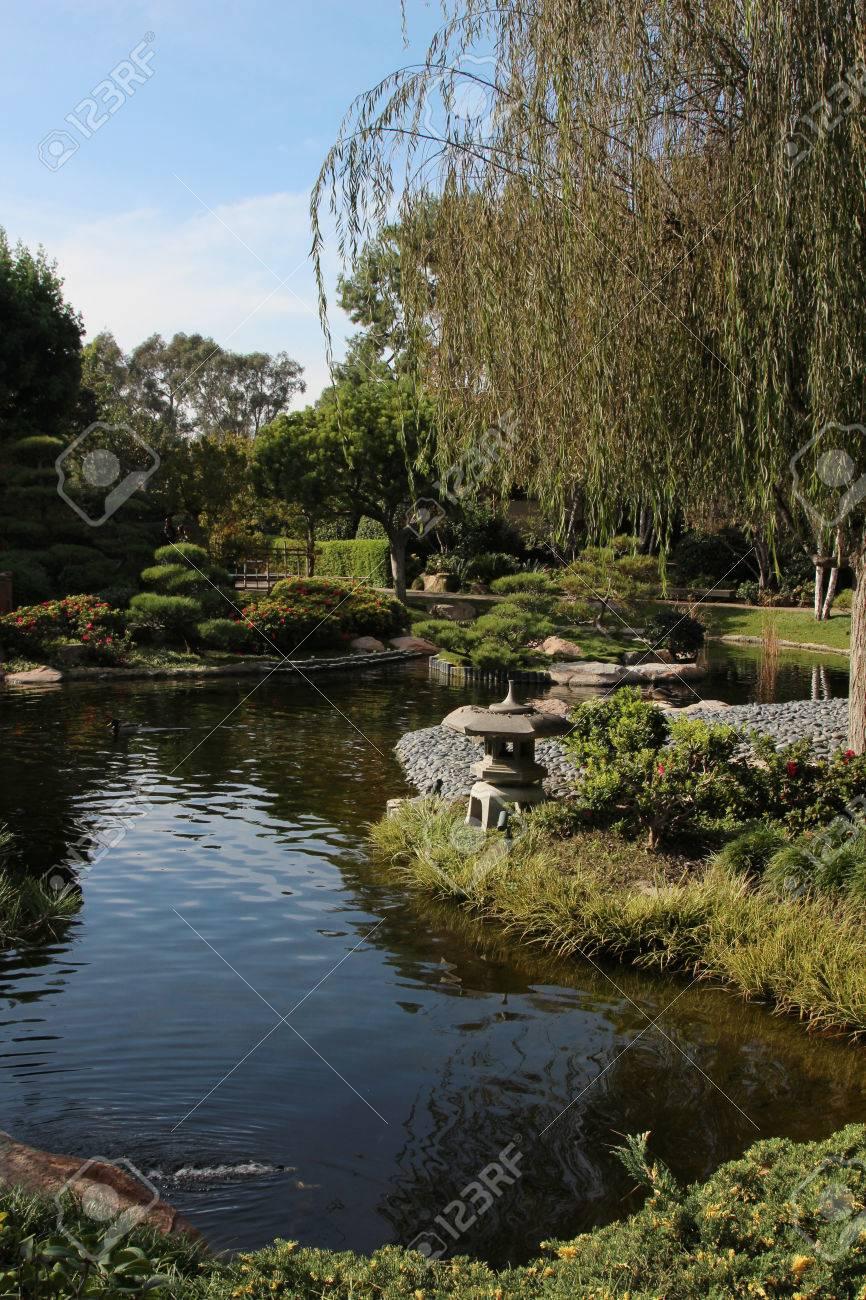 Japanese Garden Earl Burns Miller Japanese Garden In Long Beach ...