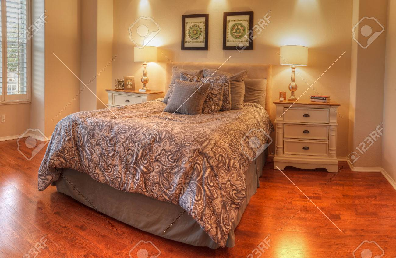 Irvine Ca Usa August 19 2016 Large Master Bedroom With Stock Photo Picture And Royalty Free Image Image 63996593