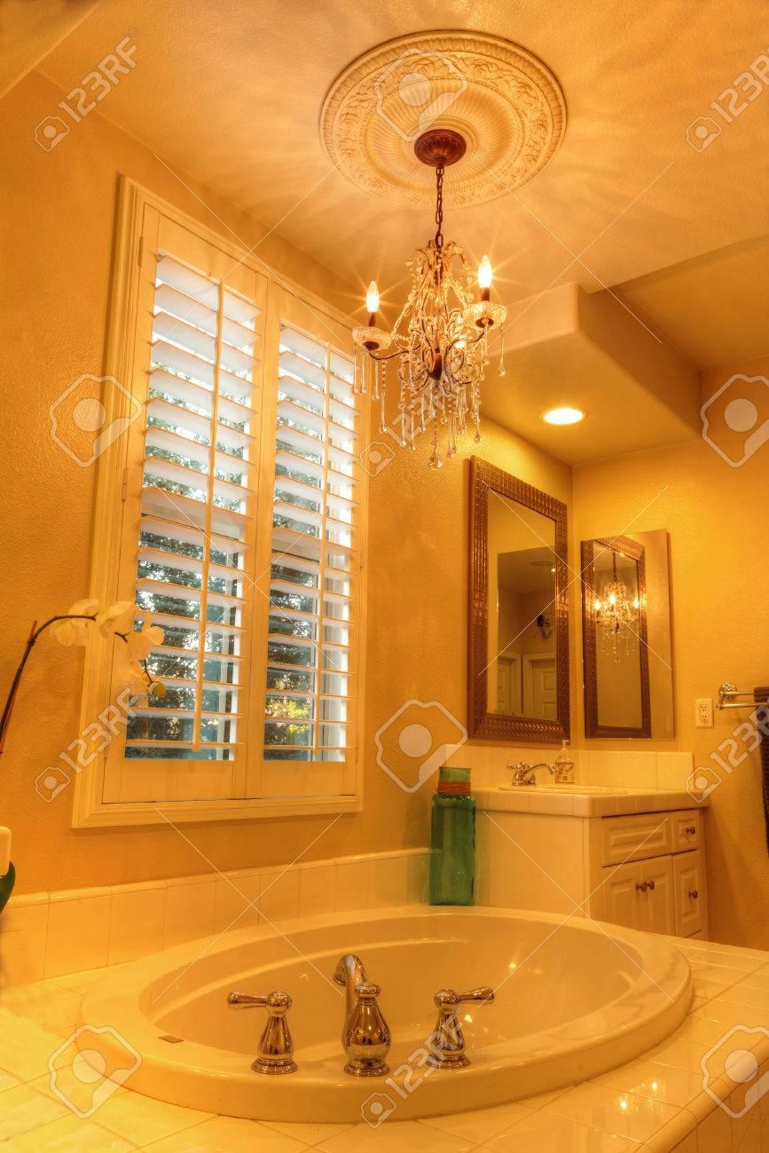 Irvine, CA, USA August 19, 2016: Oval Hot Tub Spa Bathtub In ...