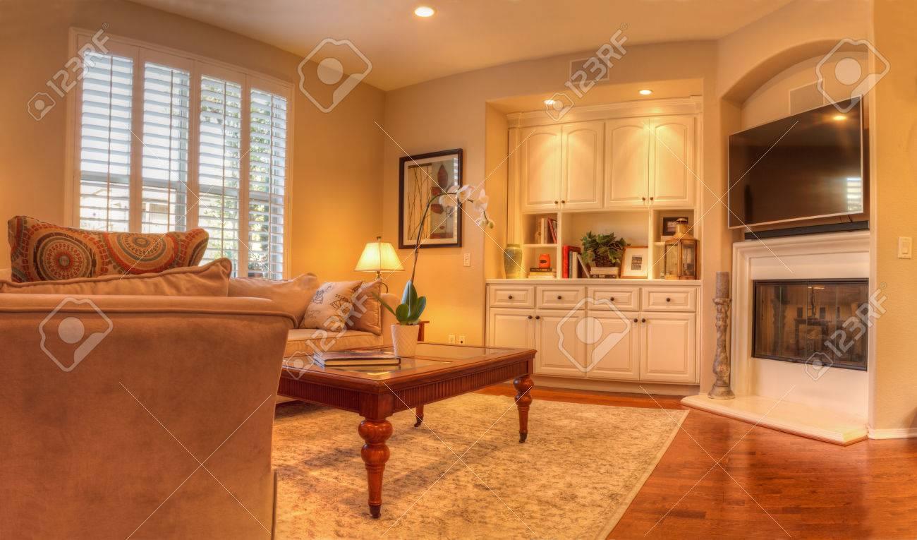 Irvine Ca Usa August 19 2016 Living Room With A Sofa Coffee
