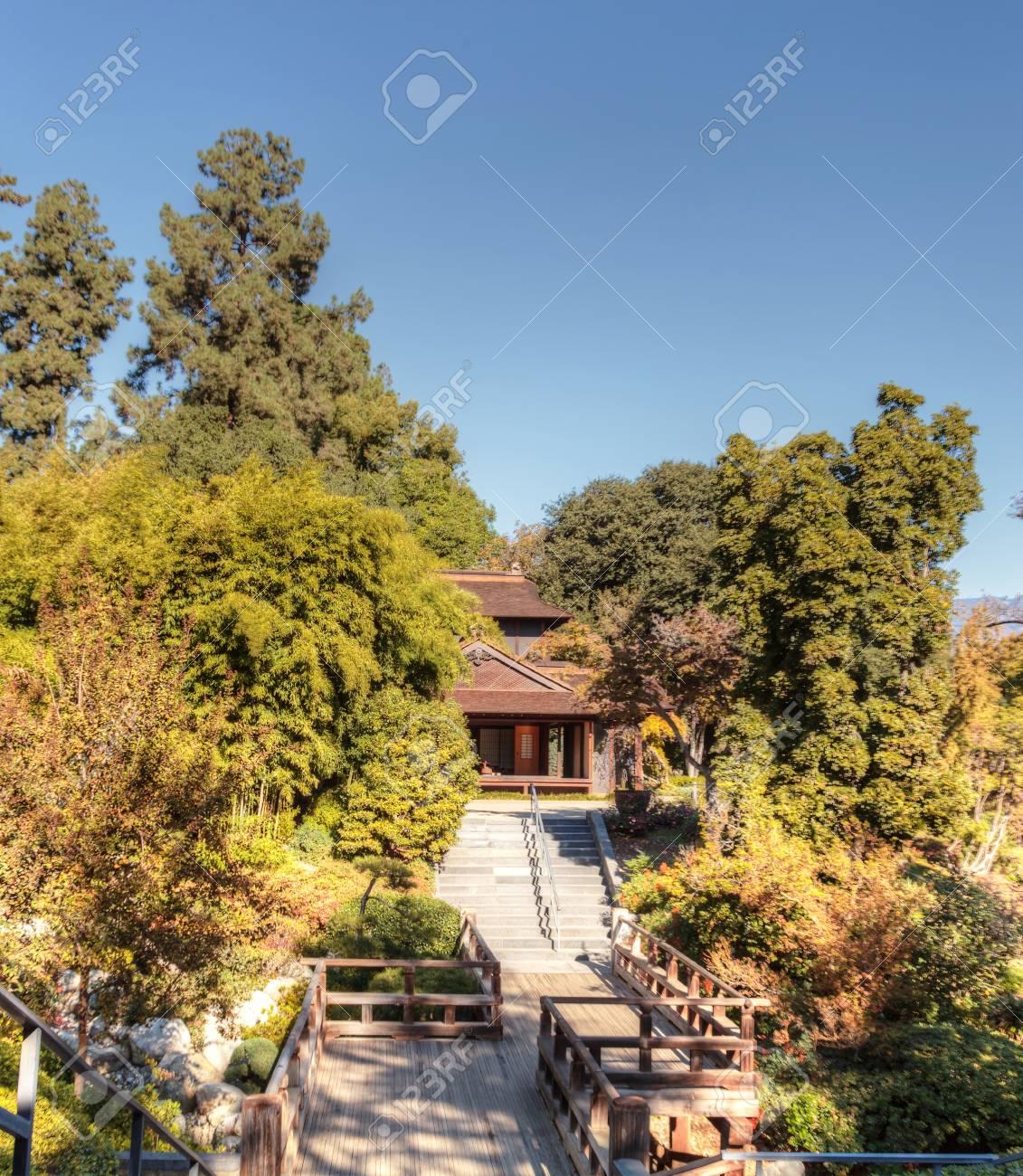 Los Angeles Ca Usa November 25 2016 Garden Tea Room With