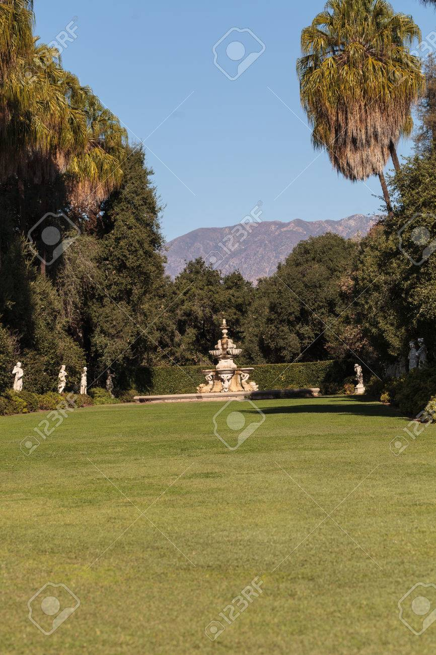Los Angeles, CA, USA – November 25, 2016: Garden View Of The.. Stock ...