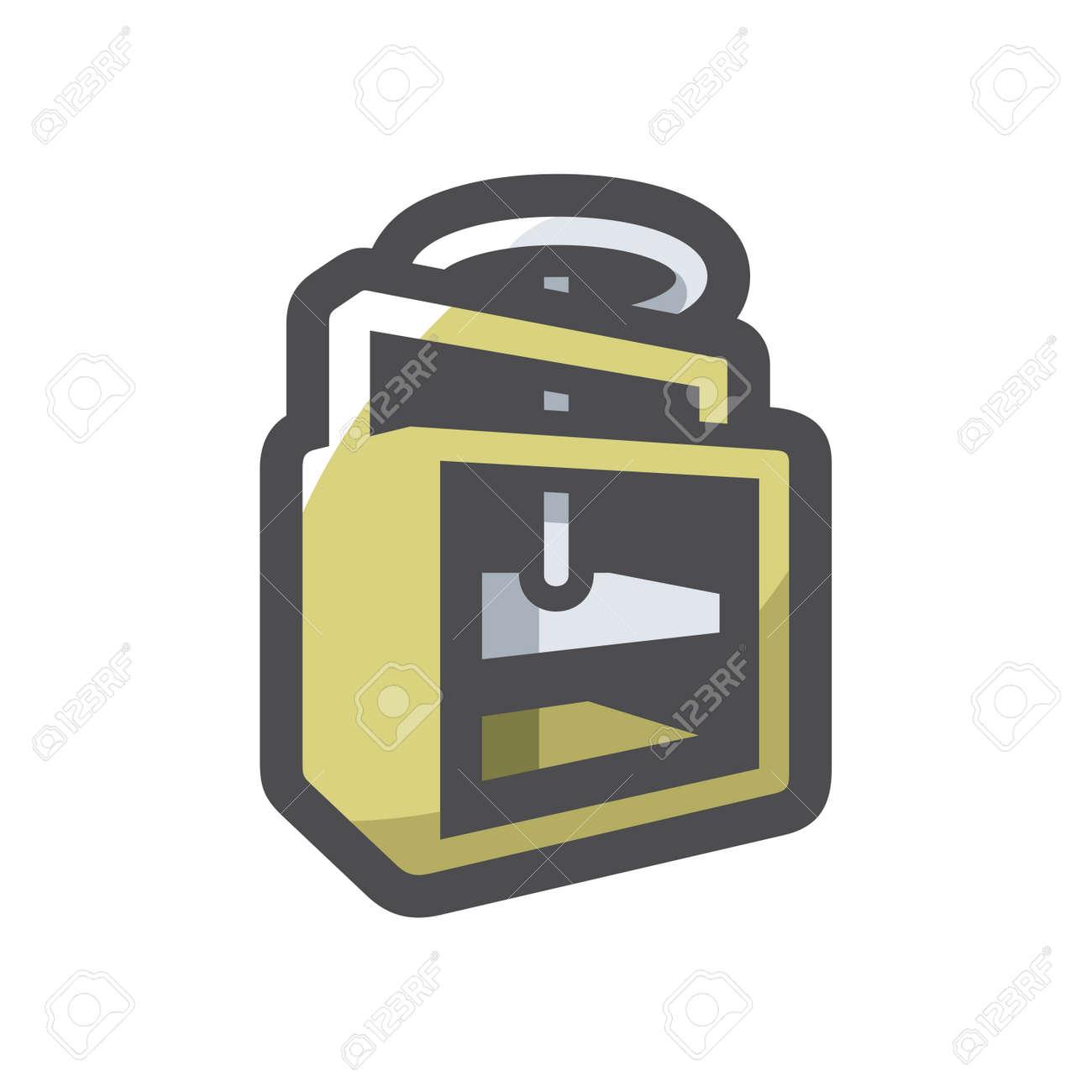 Press waste paper Vector icon Cartoon illustration - 169914199