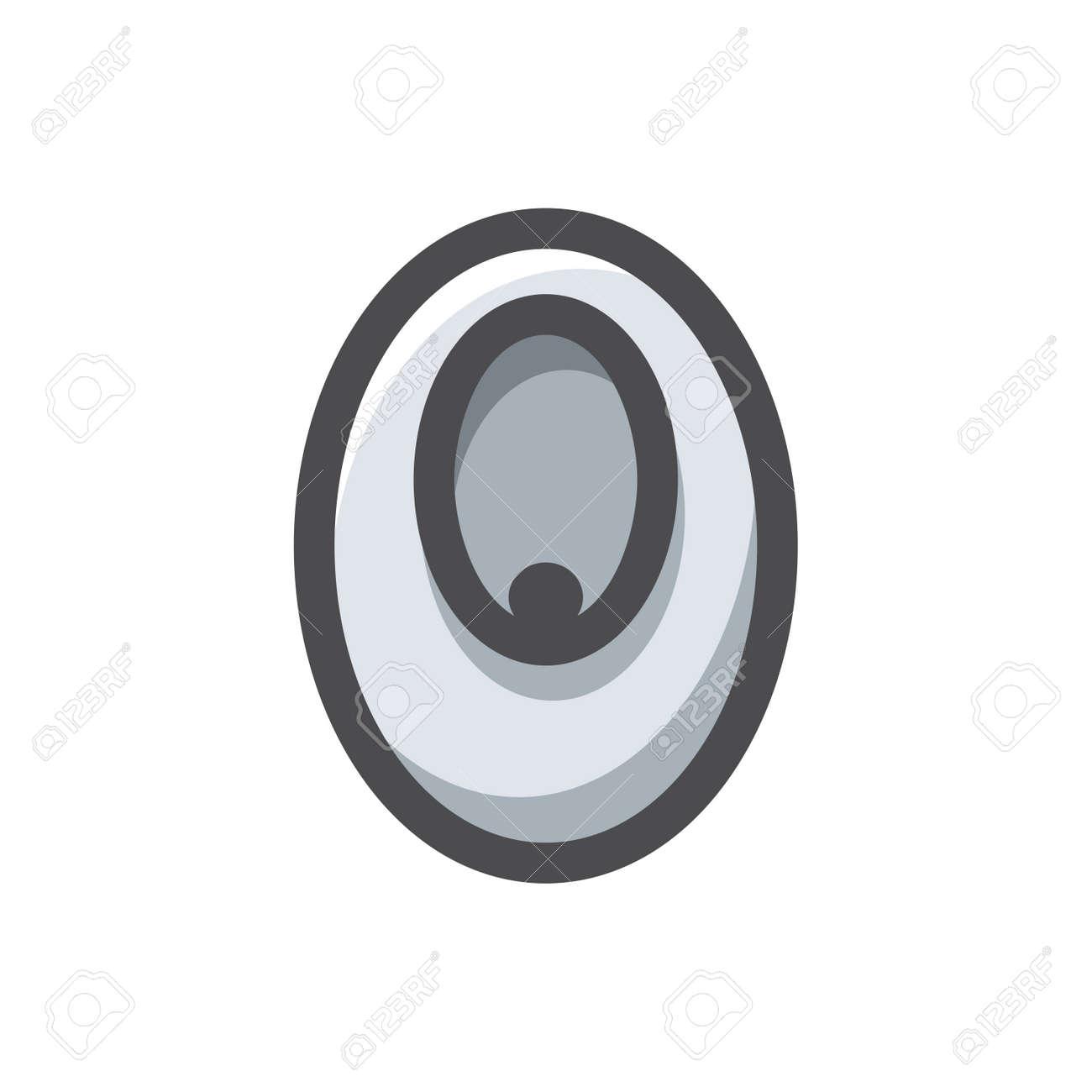Urinal sanitary engineering Vector icon Cartoon illustration. - 171392923