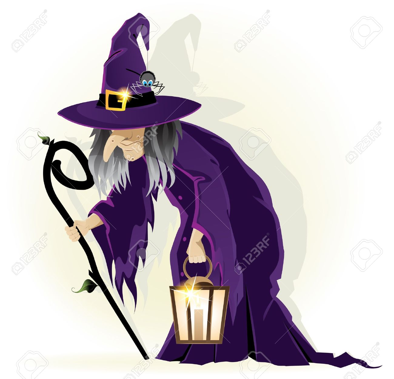 876 Bad Witch Cliparts, Stock Vector And Royalty Free Bad Witch ...