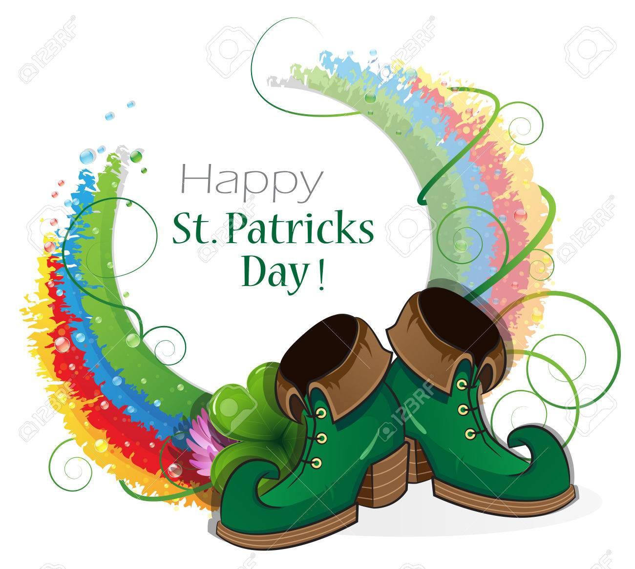 St Patricks Day Leprechaun Shoes
