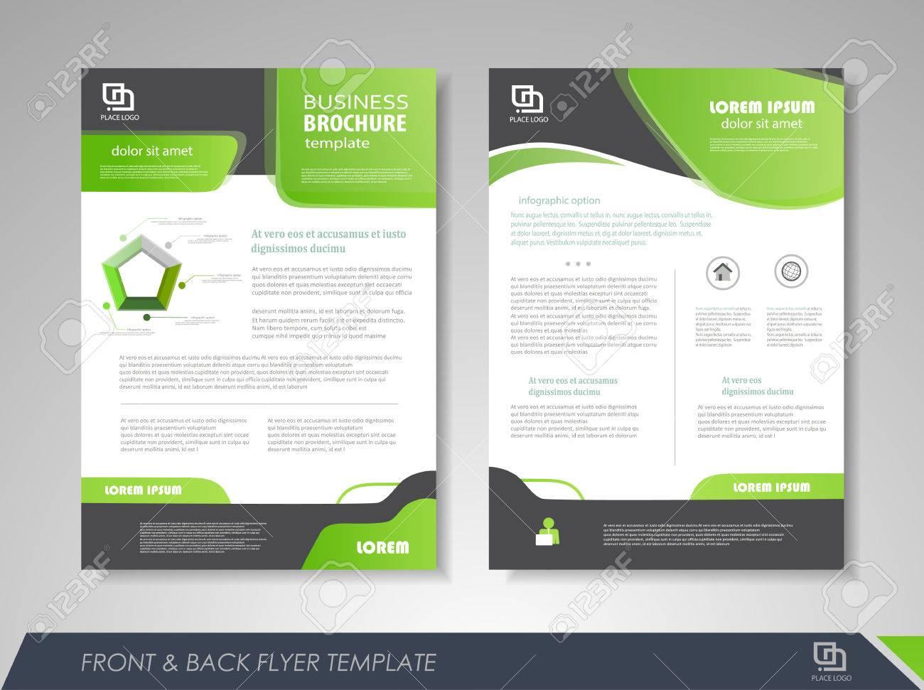 Modern Green Brochure Design Brochure Template Brochures Brochure - Brochures template