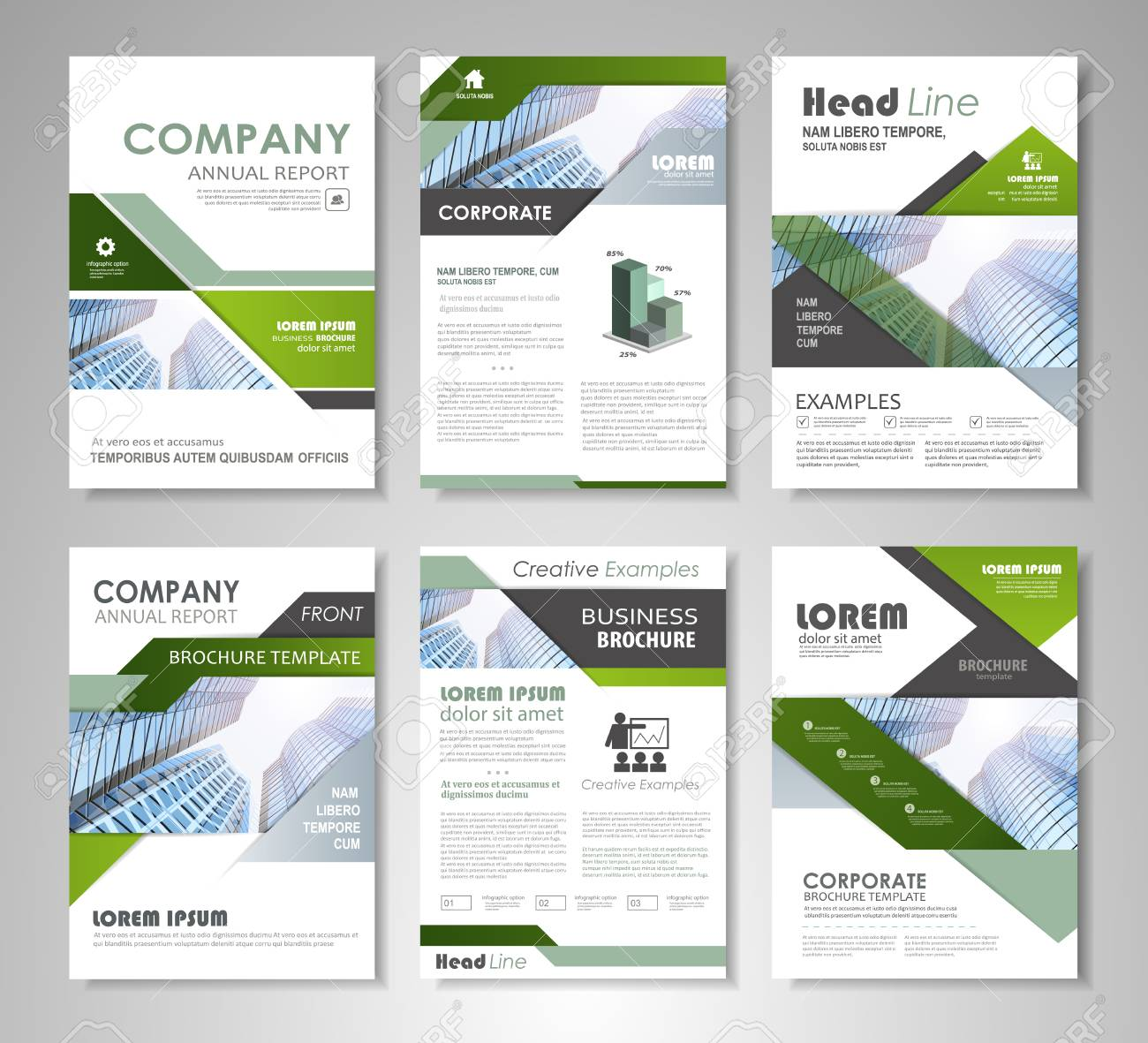 Green and black presentation template for business annual report green and black presentation template for business annual report corporate marketing creative and leaflet flashek Gallery
