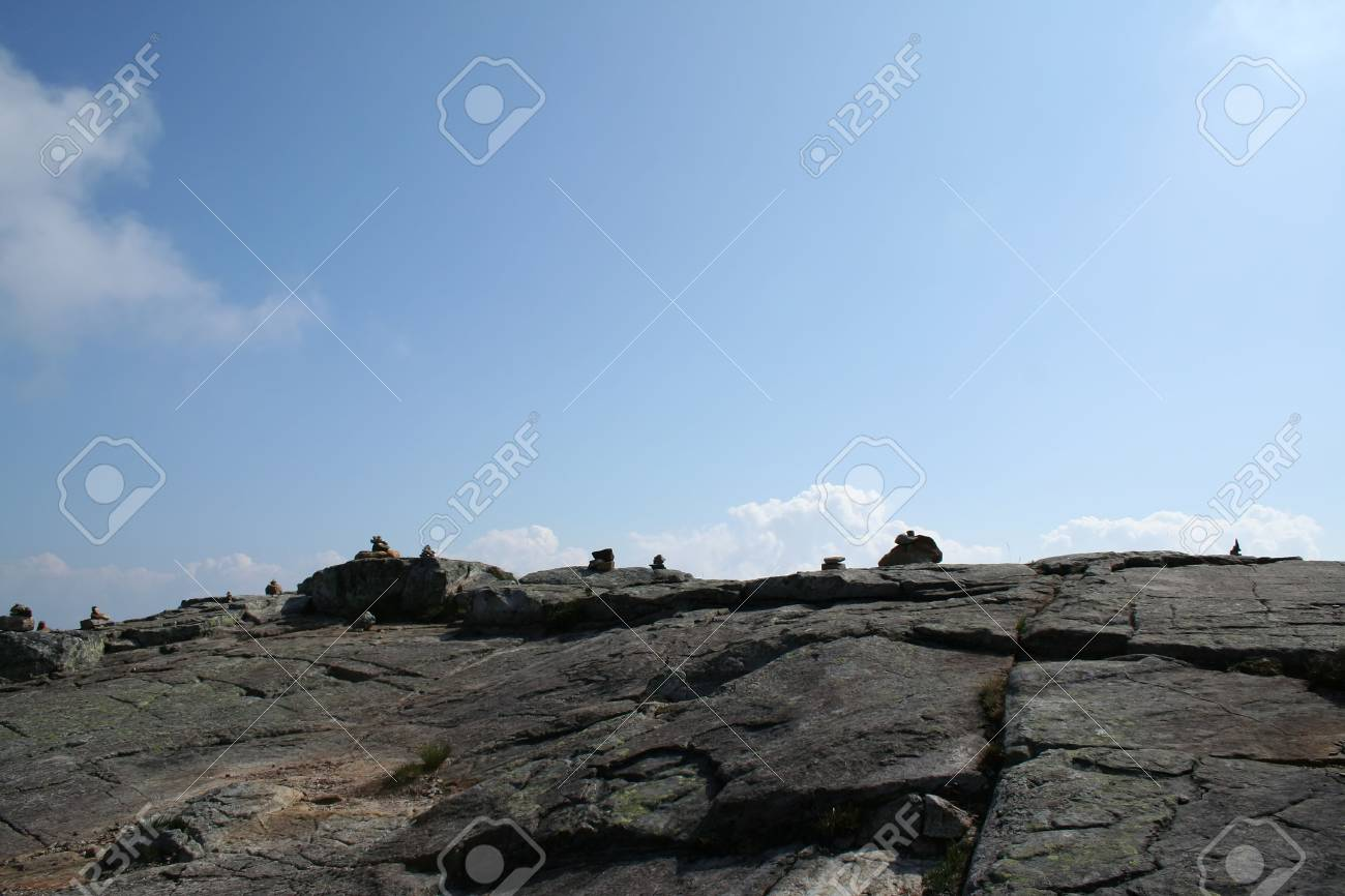 beautiful view of the Norwegian mountains - nord europe Stock Photo - 859937