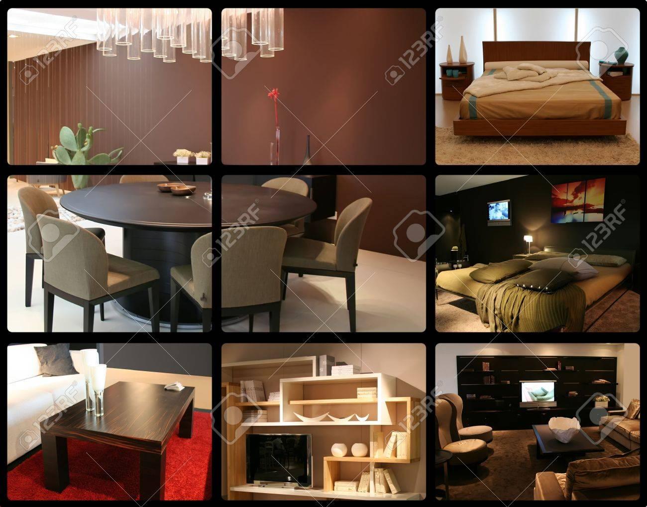 Slaapkamer en woonkamer decoratie ideeën   interieur royalty ...