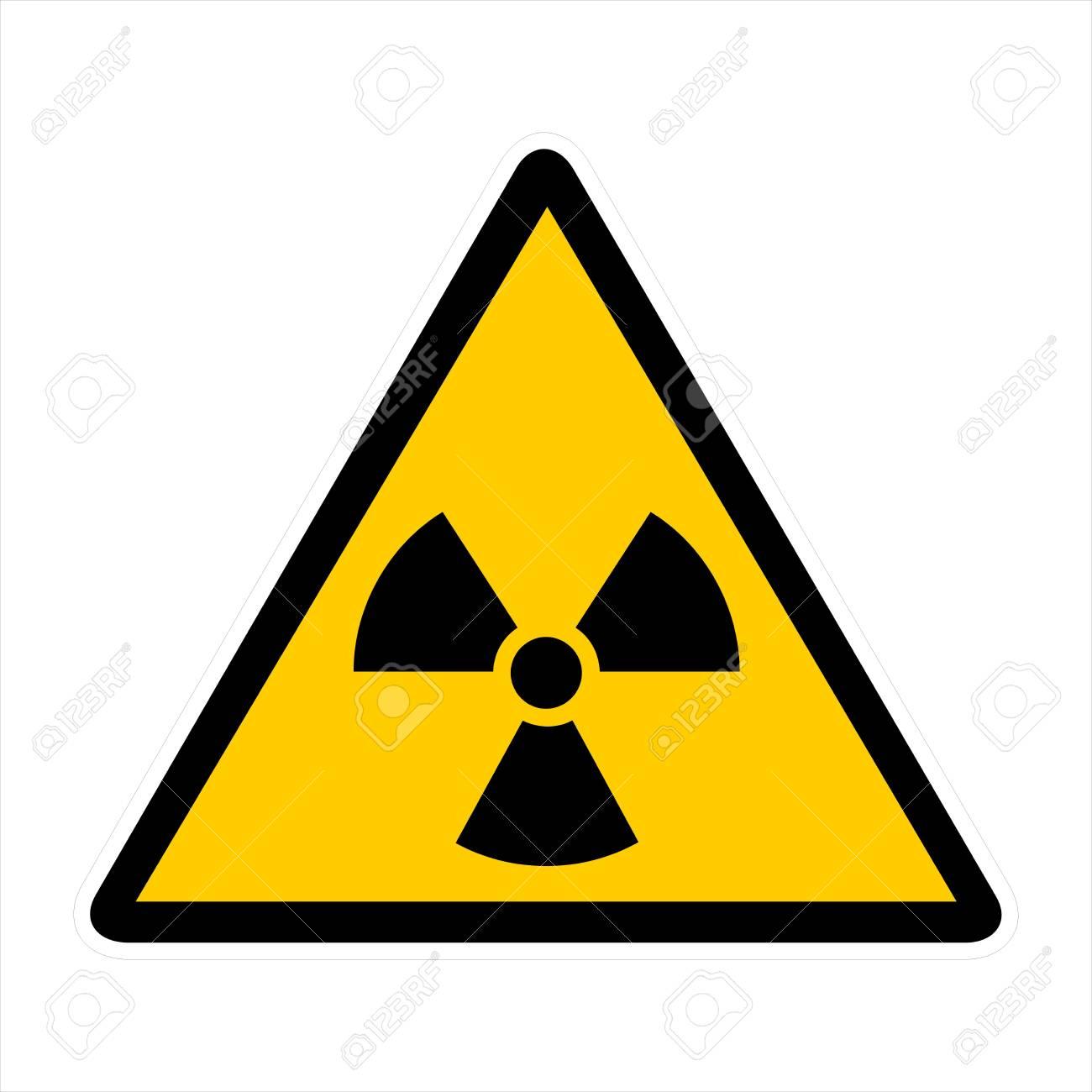 Attentin sign- radiation Stock Photo - 7143922