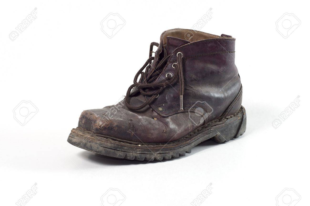 ff1ab5f8bf54 old boot Stock Photo - 17929111