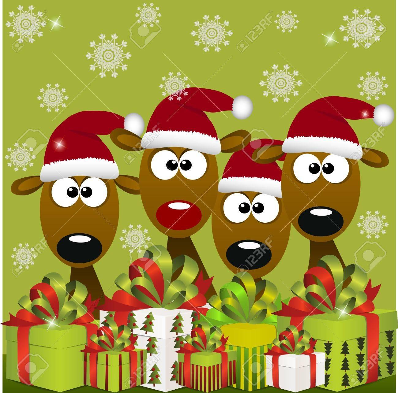 Buon Natale Originale.Vettoriale Di Alta Qualita Originale Illustrazione Vettoriale Alla