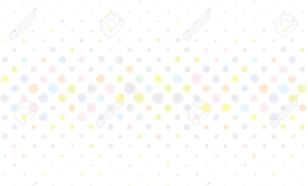 点線のパターン。パステル カラーの背景素材イラスト。 ロイヤリティ