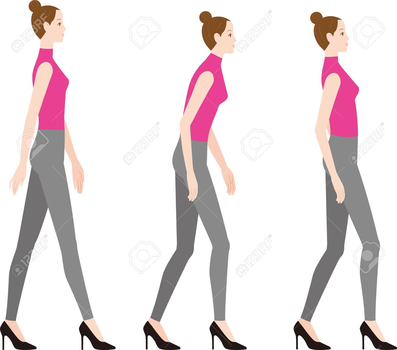 Bad And Wearing HeelsGood Posture Woman Posture A High wOilPXukZT