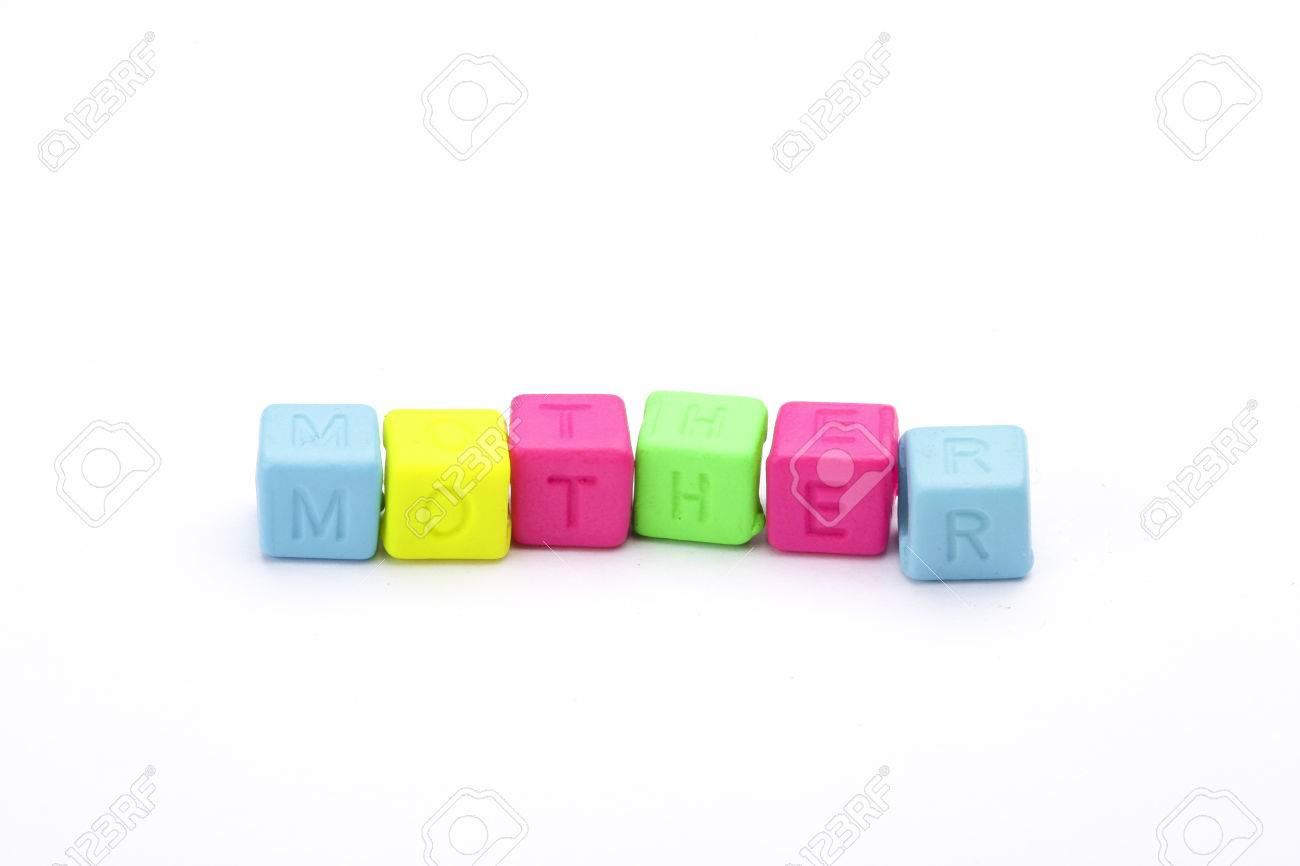 Las Letras Del Alfabeto Para Juegos De Mesa Para Ninos Sobre Fondo