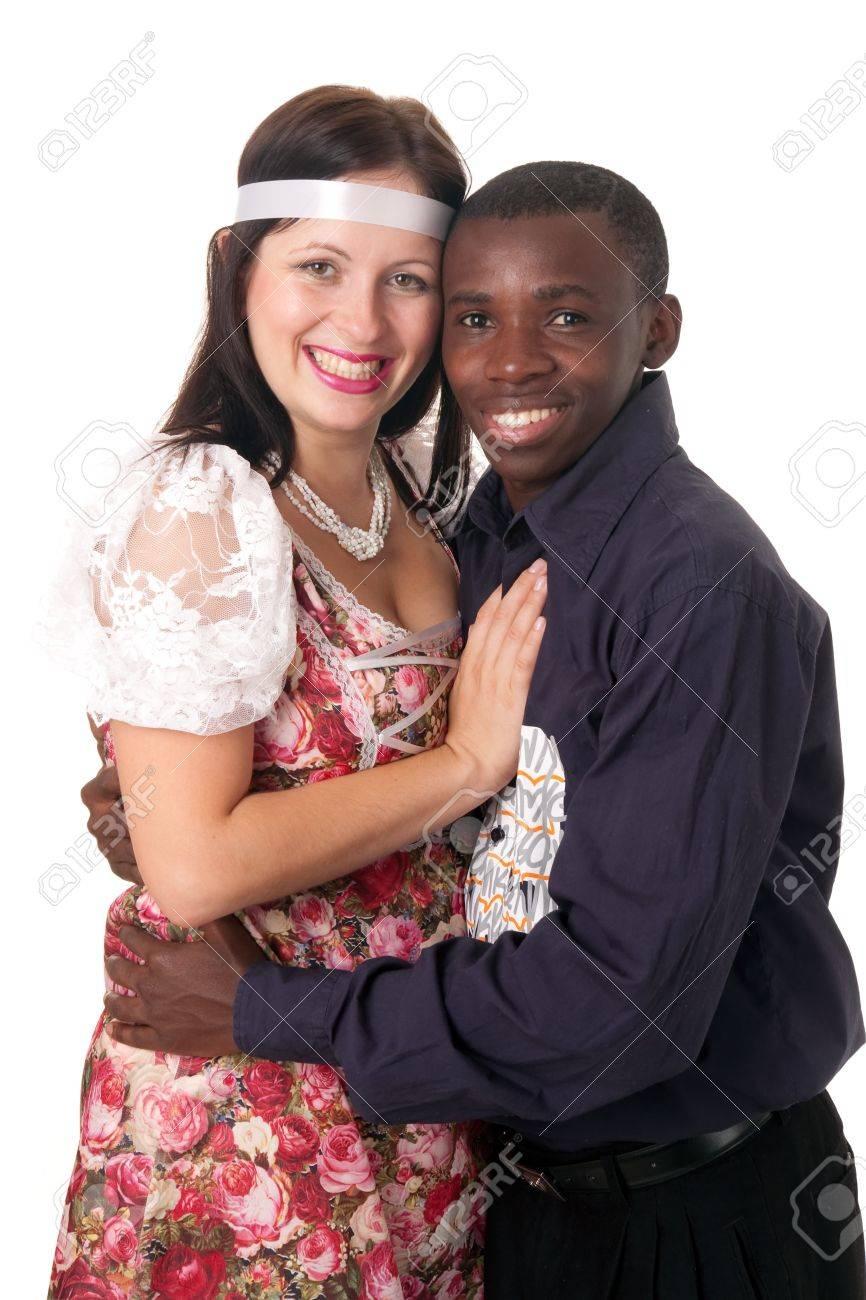 カップル 黒人 白人