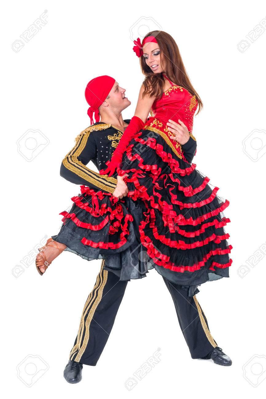 ジプシーのフラメンコ ダンサー ...