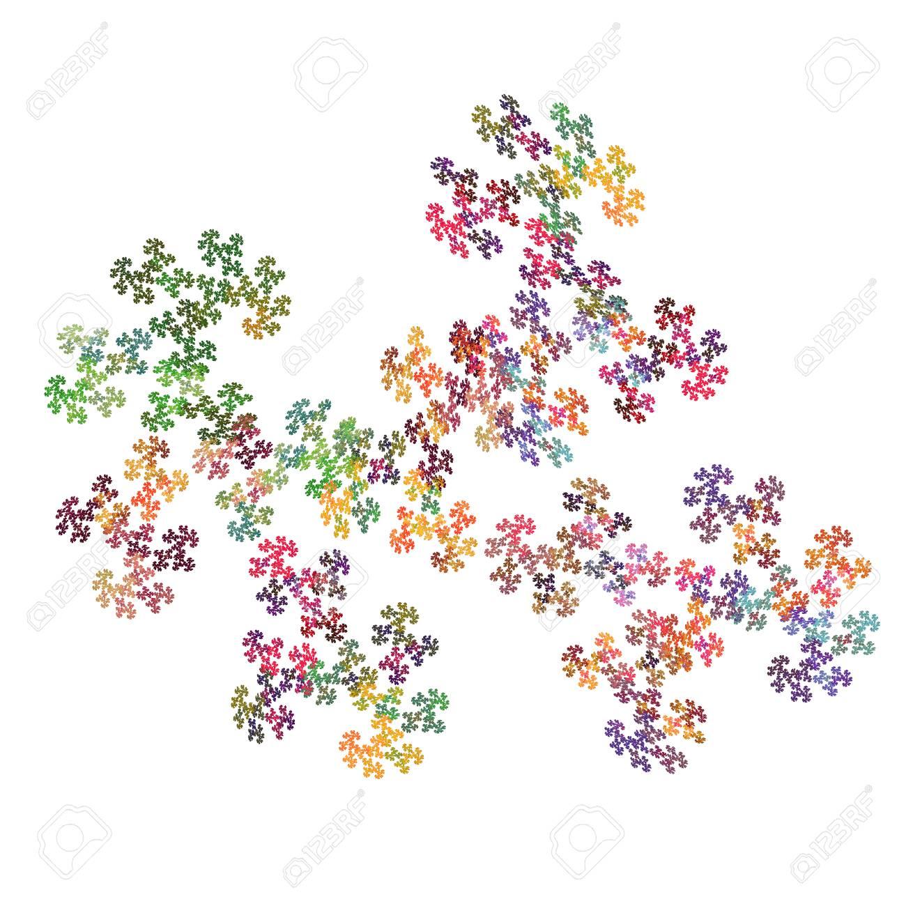 abstrakt puzzle muster auf weiem hintergrund standard bild 42876491 - Puzzle Muster