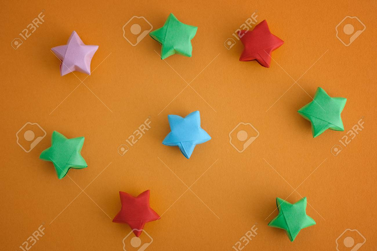 Origami Lucky Star Diagram | Origami lucky star, Origami diagrams ... | 866x1300