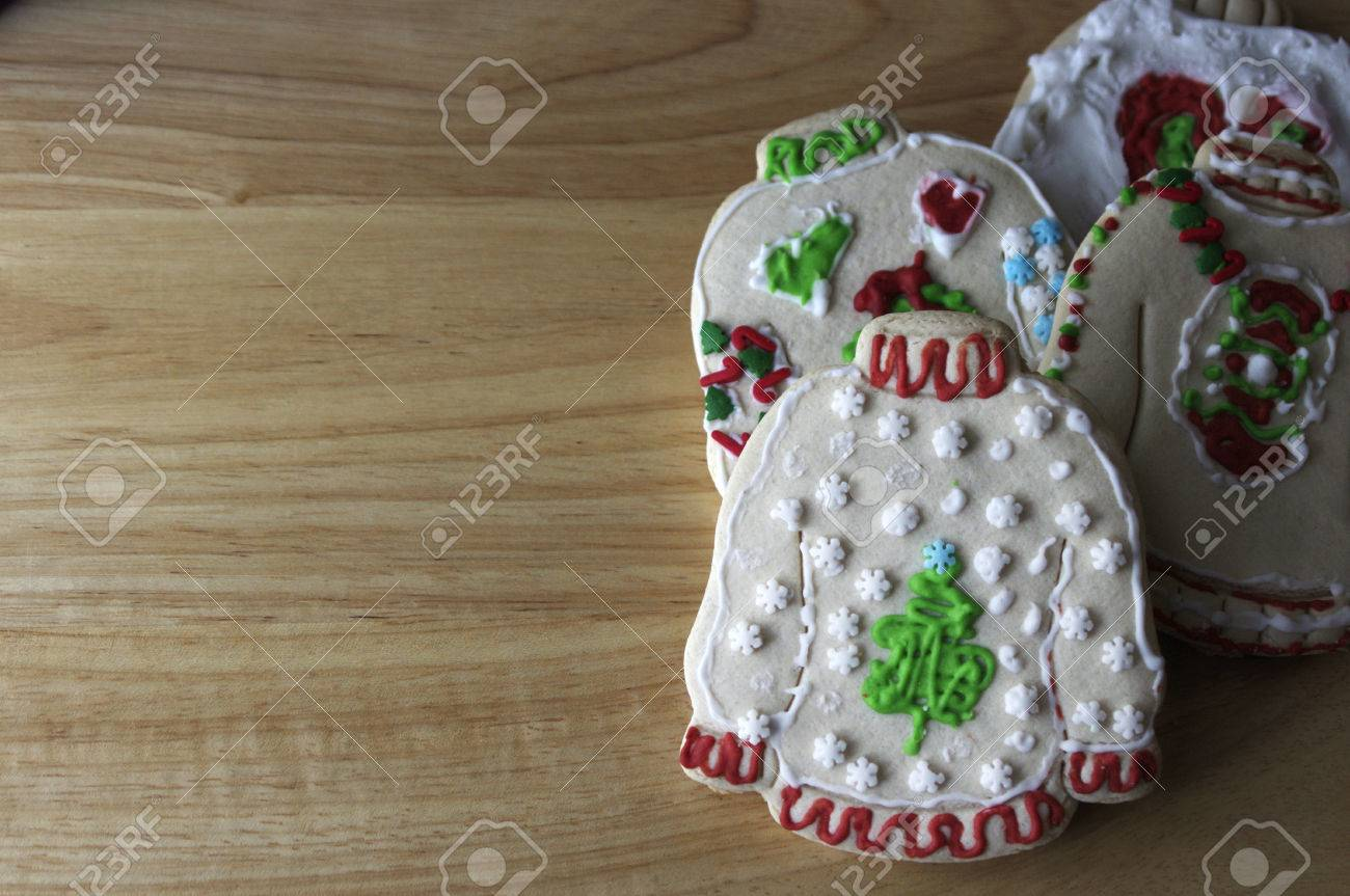 Stack Of Ugly Christmas Sweater Cookies