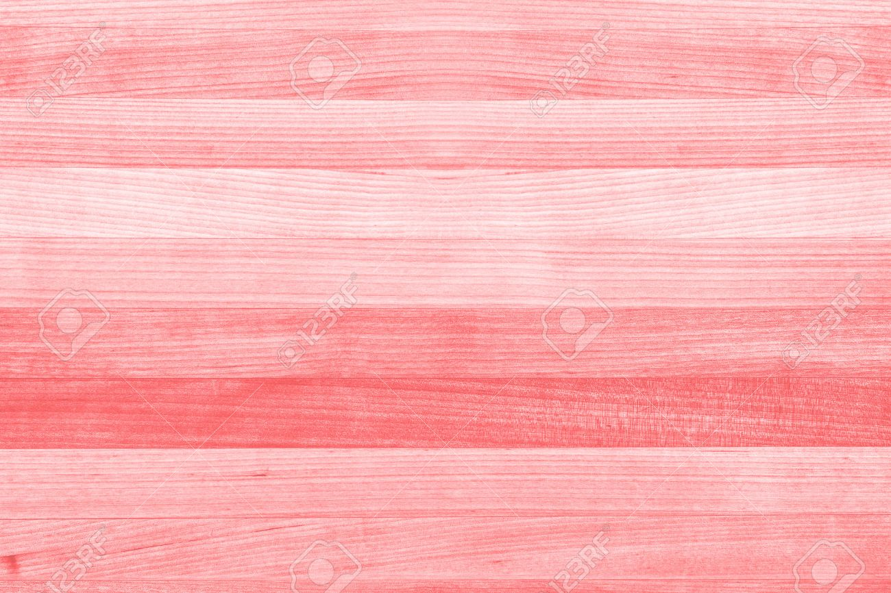 Abstract Wood Texture Background Painted Coral Pink Or Peach Stock