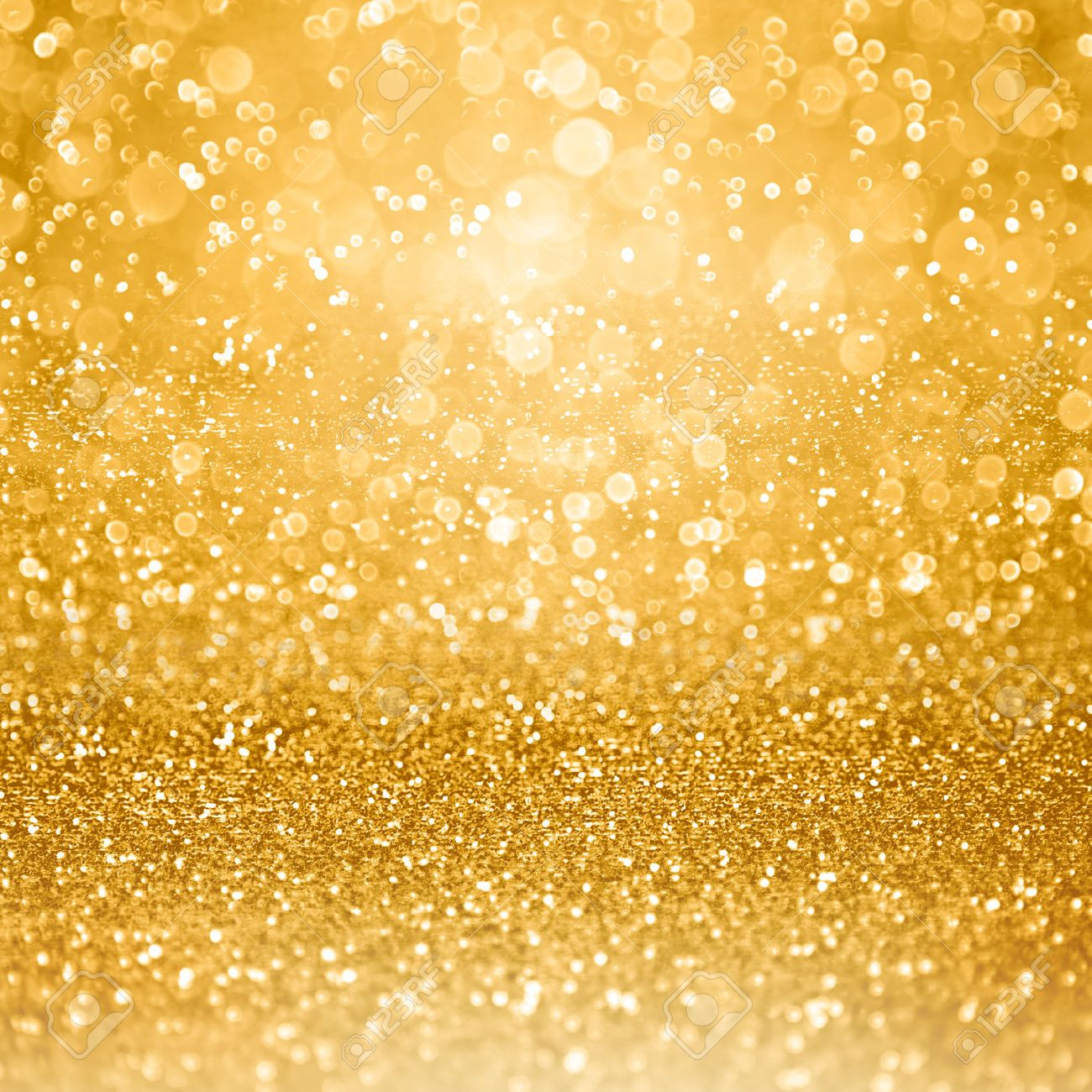 Abstract Glamorous Gold Glitter Sparkle Confetti Background Or ...