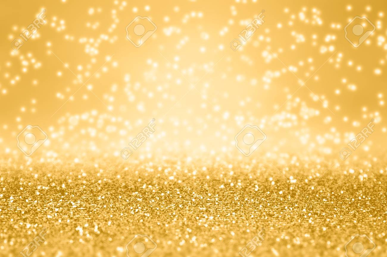 elegant gold glitter sparkle confetti background for golden happy birthday party invite 50th anniversary