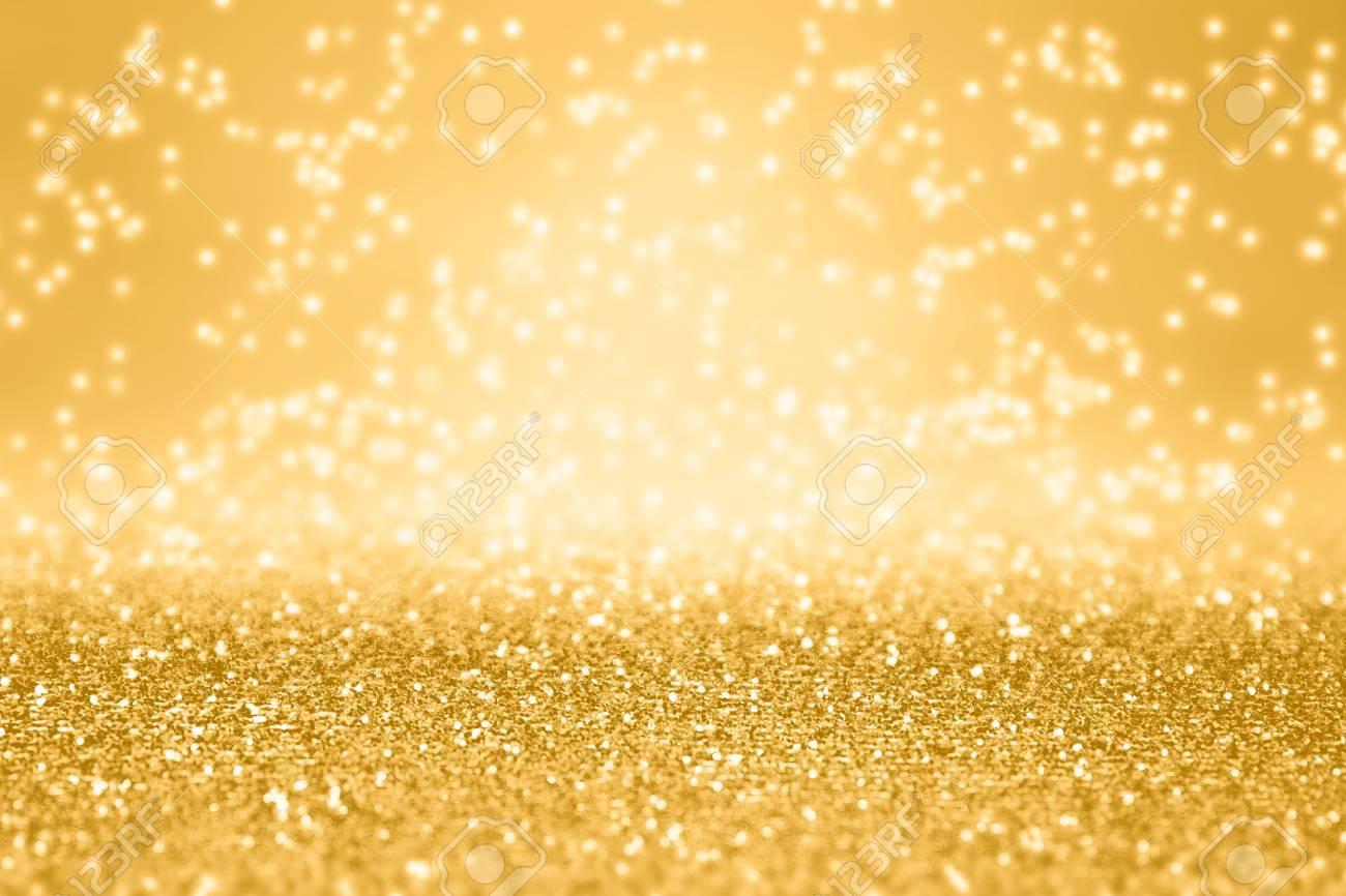 elegant gold glitter sparkle confetti background for golden happy birthday party invite 50th anniversary