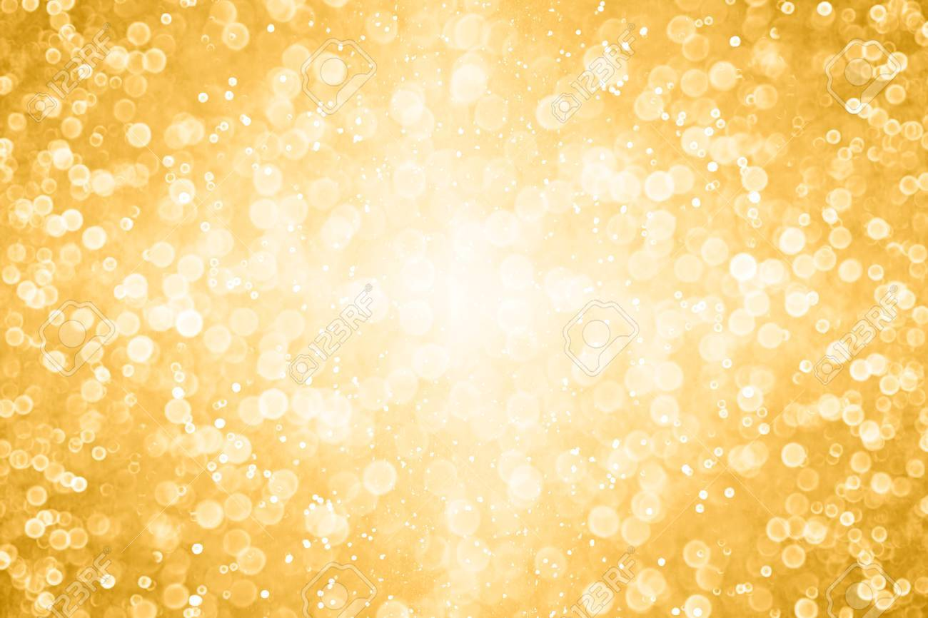 elegant gold white glitter sparkle confetti background for golden happy birthday party invite 50th wedding