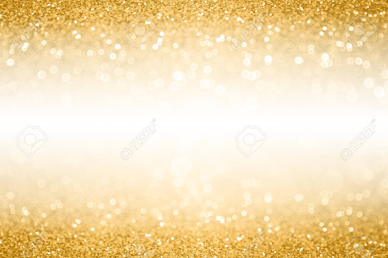 Fancy Gold Glitter Sparkle Confetti Background For Golden Happy ...