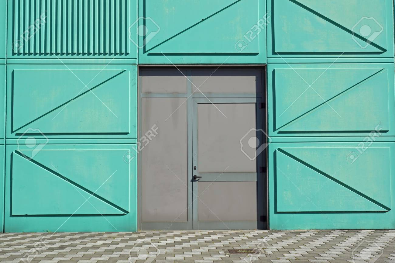 Fire escape doors on a sidewall of facade building. emergency exit Stock Photo - 69080883 & Fire Escape Doors On A Sidewall Of Facade Building. Emergency ...