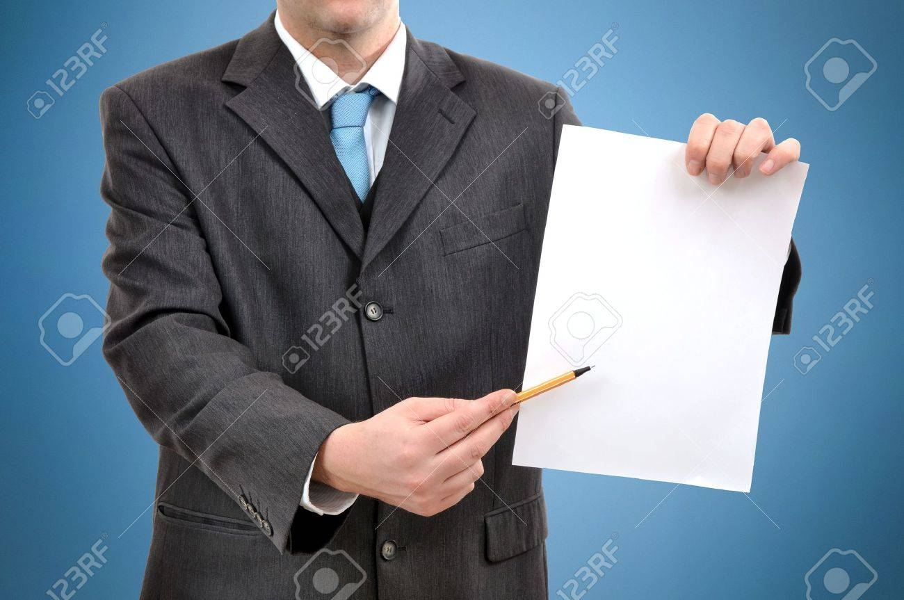 d Rendering Of Business Person Writing On Paper  d White People