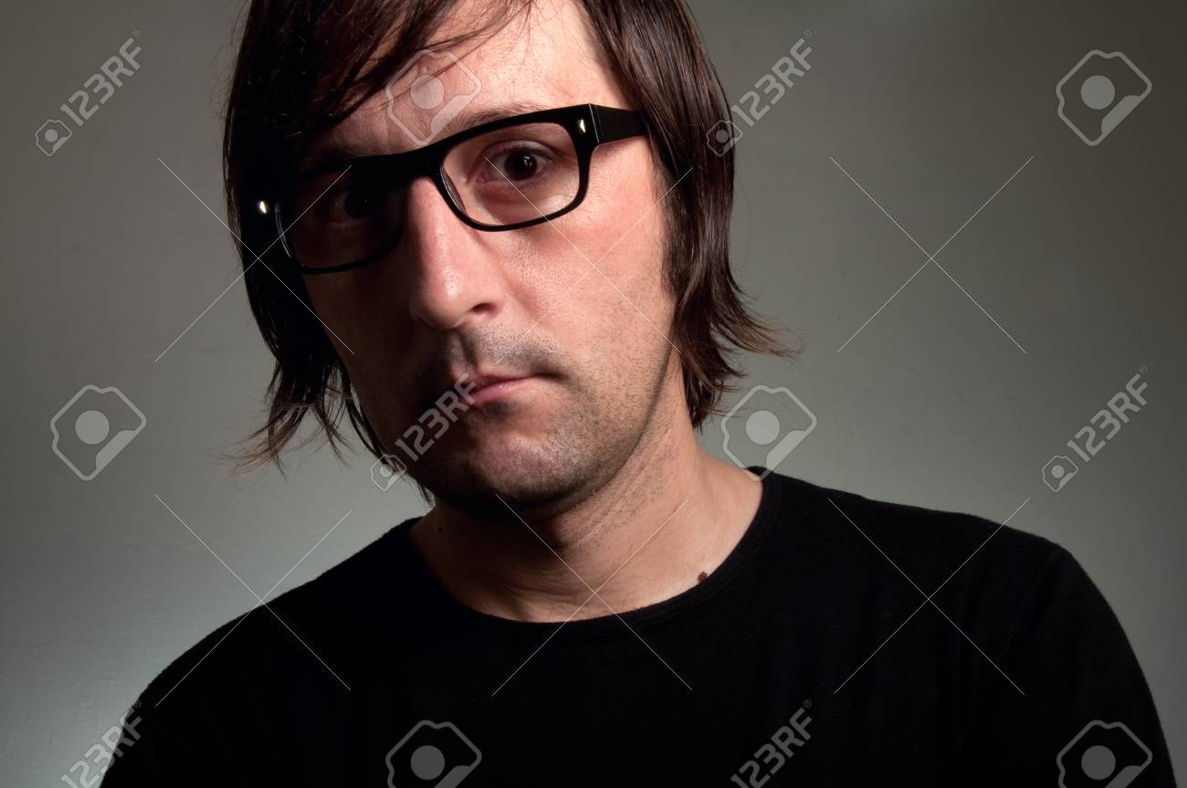 Artistic portrait of a man in his 30's. Stock Photo - 12070253