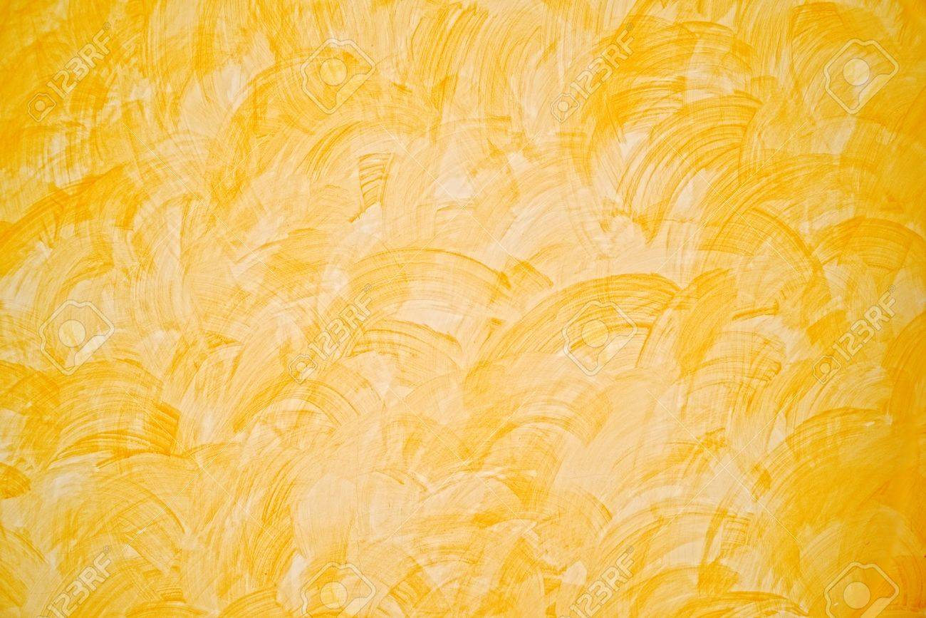 Interior wall paint textures - Yellow Wall Paint Texture Home Interior Background Stock Photo 20497829
