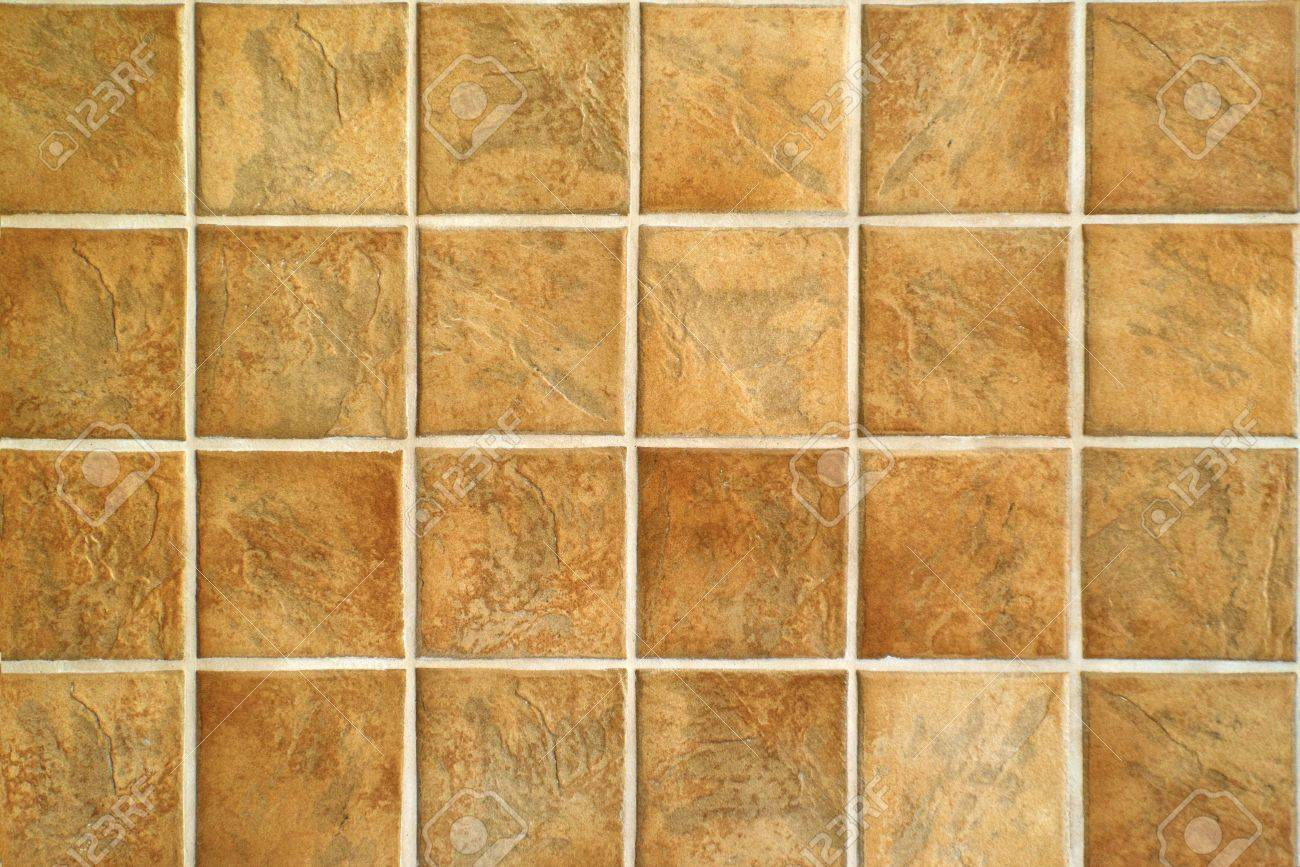 Ceramic Tiles Beige Mosaic Ceramic Tiles For Wall Or Floor Stock