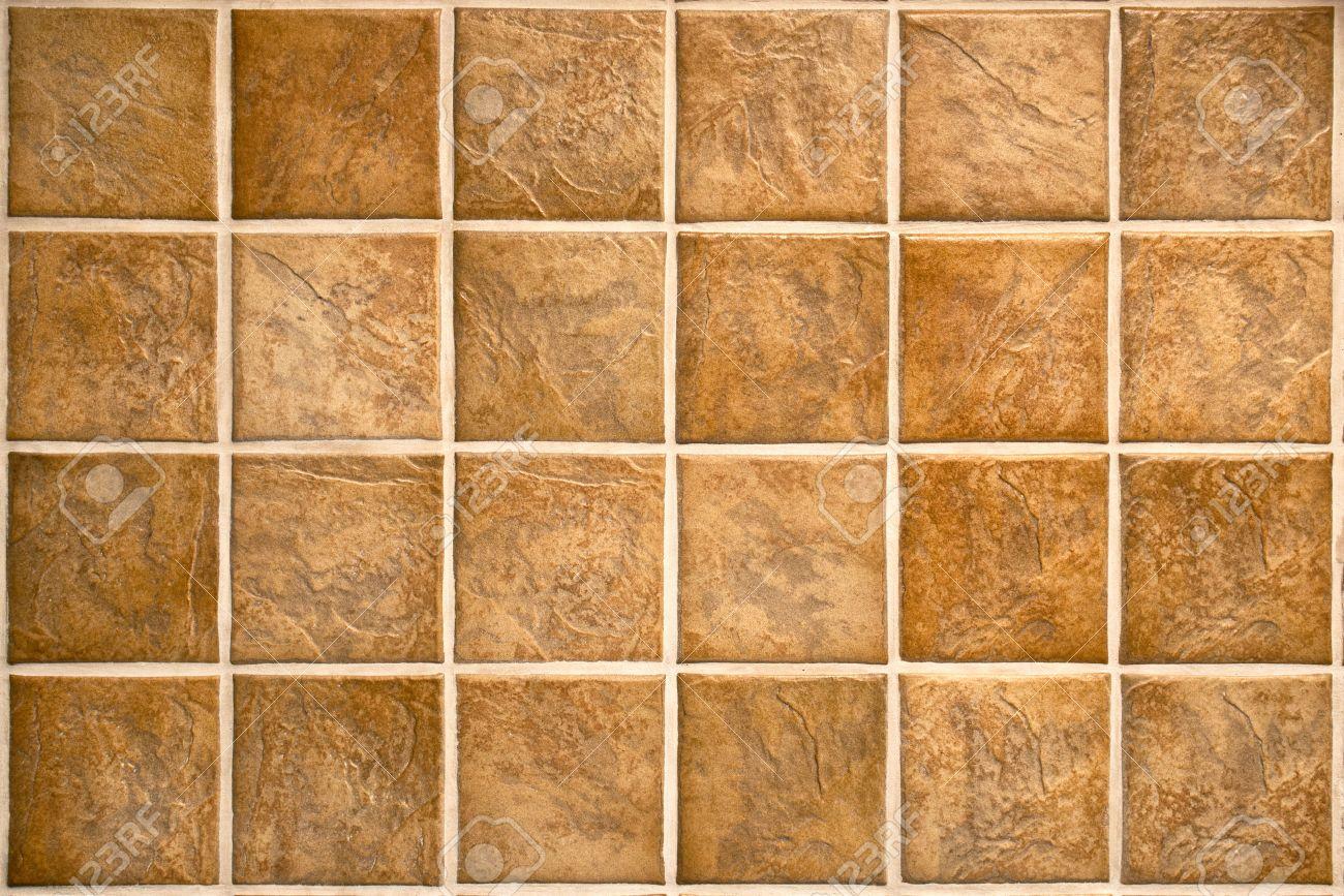 Piastrelle Di Ceramica. Piastrelle In Ceramica A Mosaico Beige Per ...