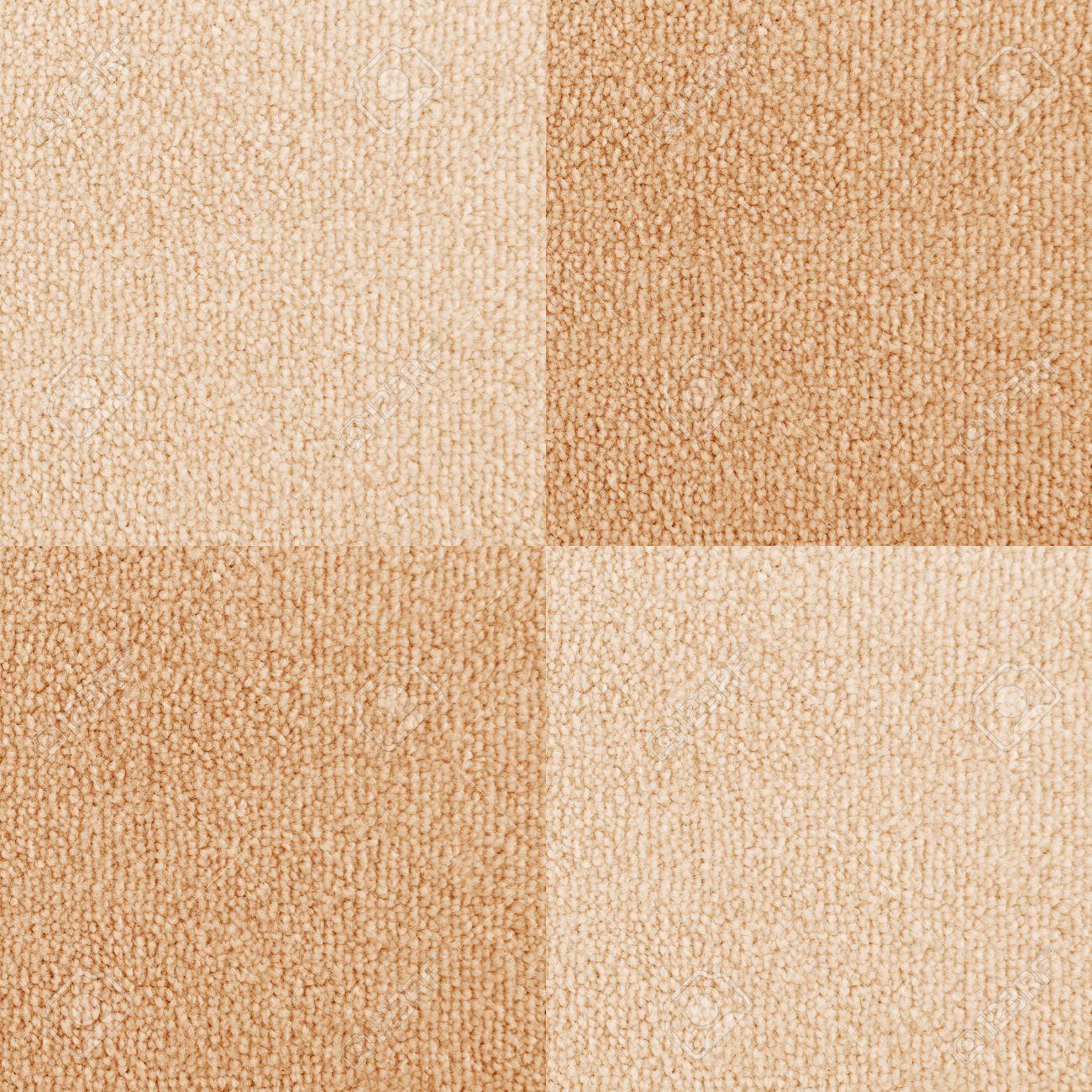 New Checkered Carpet Texture Bright Beige Carpet Flooring As Stock